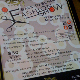 Fashion Show For A Good Cause